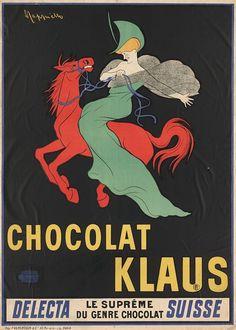 "PG104 ""Chocolat Klaus"" poster by Leonetto Cappiello (1903)"