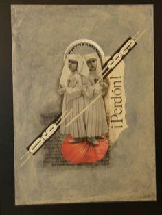 Artist: Teresa Cucala #collage #mixed #media #art