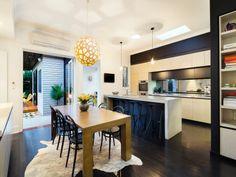 #decoración #interiorismo #diseñodeinteriores Un lindo bongalow en Australia. Más en: http://greenandfreshdecor.blogspot.com.es/2014/06/un-lindo-bongalow-en-australia.html