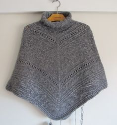 A's ALMANAKK: juli 2012 Crochet Shawl, Crochet Top, Pullover, Knitting, Sweaters, Tops, Women, Fashion, Moda
