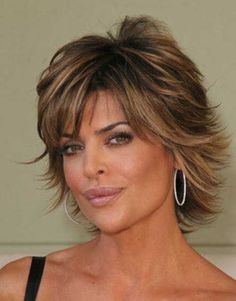20.Layered Short Hair