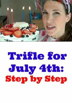 Fourth of July Trifle: How to Make This Simple Red, White & Blue Dessert