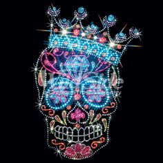 SUGAR SKULL WITH CROWN | The Wild Side