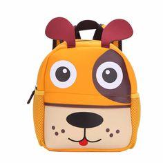 New 3D Cute Animal Design Backpack Kids School Bags For Teenage Girls Boys Cartoon Dog Monkey Shaped Children Backpacks Big Size