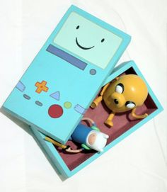 #Adventure #Time #Cool #Stuff. A little Bmo, God and Jesus kit to play with. What a great gift for anyone who loves to watch the show.
