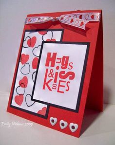 Hugs & Kisses- LSC202 by stampingout - Cards and Paper Crafts at Splitcoaststampers
