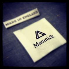 Wooven labels #mamnick