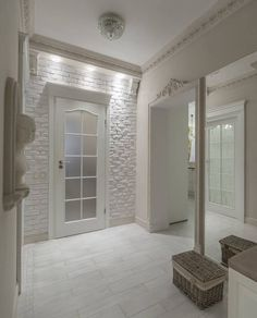 Baseboard Styles, Hallway Walls, Living Comedor, Vestibule, Entrance Hall, Cozy House, Foyer, Floor Ceiling, Ceiling Decor