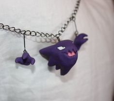 Pokemon Jewelry Commissions (Polymer Clay Originals) - Album on Imgur - Haunter necklace
