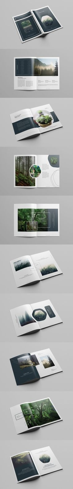 Multipurpose Creative Portfolio Brochure Template InDesign INDD - 36 Custom Pages, US Letter Size