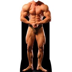 Muscle Man Stand-In Cardboard Stand-Up-