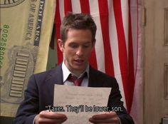 Charlie's pledge