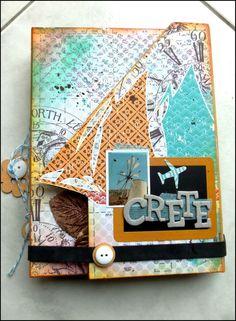 Mini-album Cr�te - Atelier Karine Cazenave-Tapie