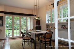 Teil des Hofensembles in Isernhagen: Essen im Wohnhaus Windows, Detached House, Real Estates, Garden Cottage, Homes, Essen, Ramen, Window