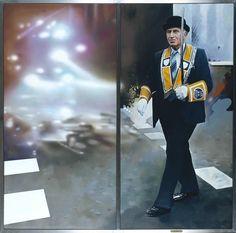 'The citizen', Richard Hamilton, Richard Hamilton Artist, Pop Uk, Red Video, Richard Williams, Carnegie Museum Of Art, Black Umbrella, Institute Of Contemporary Art, Tate Gallery, Pop Culture Art