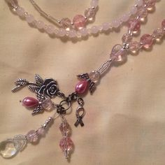 Lanyard Necklace Handmade Hand Beaded Jewelry by BOONEDOCK27, $30.00
