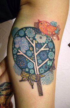 Tattoo by Anna Belozerova
