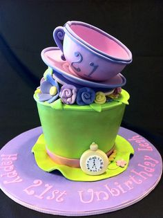 Leah's Madhatter's Hat by Miss Kate Cupcake, via Flickr