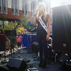 I had the honor of singing the National Anthem at todays @makeawishmidatlantic #WalkforWishes!! Over $24500 was raised in order to make the wishes of children with life threatening illnesses come true! Amazing!! #makeawish #MissMDUSA #MissUSA #roadtothecrown #bemorethanpretty #confidentlybeautiful photo credit @realmissmdteen : @missmdusa Own That Crown is a Pageant Marketplace app that connects girls in the pageant industry together based on their location. Find or list your used pageant…