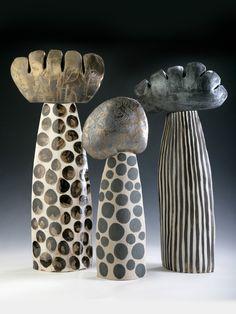 ceramic sculpture, Linda Bristow