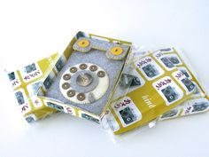 Package Design for My Felt Camera/iPhone Cases by Hine Mizushima, via Behance