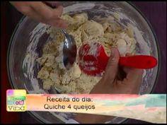 Quiche de Bacalhau Álvaro Rodrigues Note e Anote - YouTube