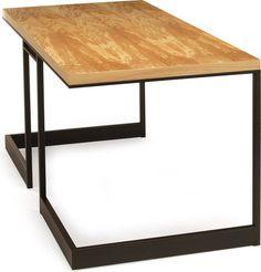 Wishbone Slab Top Desk by Skram