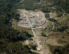Monte Mozinho Celtic hillfort in Penafiel, Portugal - still under excavation