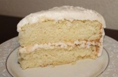 ***LOVE THIS RECIPE - was still moist a few days later!*** Gluten-Free Dairy-Free White Cake Recipe. Changes - 2cups GF flour; 1/2 cup coconut flour (no gum).