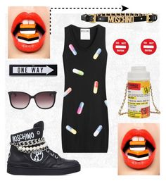 """""""♡♡♡♡♡"""" by artabans ❤ liked on Polyvore featuring Moschino"""