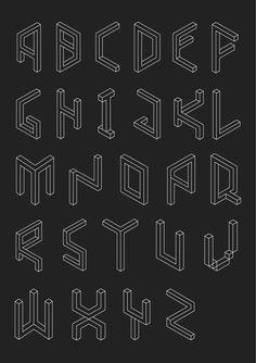 KLIMB TYPEFACE #gif  Designed by George Hay.