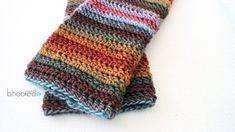 Beginner Crochet Leg Warmers 4. Lion Brand Landscapes desert spring
