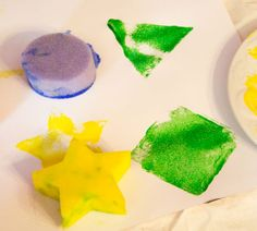 Shape Art Activity For Kids