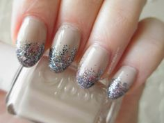 Glitter Gradient #nail #tutorial