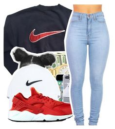 """""""Untitled #356"""" by mindset-on-mindless ❤ liked on Polyvore featuring beauty and NIKE"""