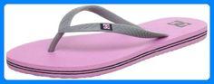 DC Shoes SPRAY D0303362, Damen Zehentrenner, Pink (PINK), EU 37 (US 6) - Zehentrenner für frauen (*Partner-Link)