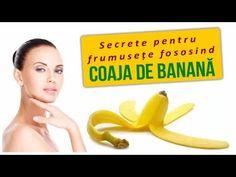 🍌Secrete pentru frumusețe cu doar un ingredient - COAJA DE BANANĂ - YouTube Fruit, Fitness, Youtube, Varicose Veins, Banana, Plant, Youtubers, Youtube Movies