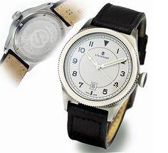 Steinhart Military automatic white Military  $370 Euro Steinhart Watches mens luxury watch. steinhart #divers #marine #aviation pilots chronographs @calibrelondon