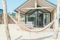 Haustierfreundliche Sea Lodge in gemütlichem Ferienpark in der Nähe des Strandes von Bloemendaal