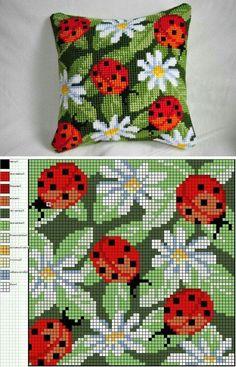 Lady bird cushion