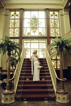 Great Gatsby bride  #Whiteflash #MarkSchneider #DesignerRings