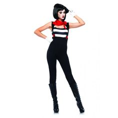Marvelous Mime Adult Women's Costume