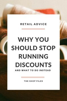 Why You Should Stop Offering DIscounts, Alternatives to Discounting Your Product / Advice on Profit and Pricing for Handmade Business and Crafts for Online Shops