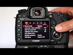 Setting up a Canon 5D Mark 3 (5d mk iii) for Wedding Photography - YouTube