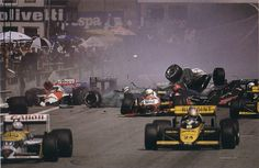 F1 start line crash Austria 1987 P2