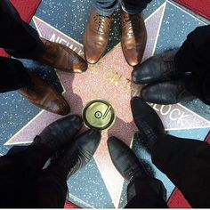 New Kids On The Block Star on the Hollywood Walk Of Fame
