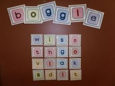 BOGGLE letters from Carries Creations on TeachersNotebook.com -  (8 pages)