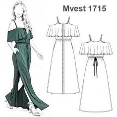 Diy Clothing, Sewing Clothes, Dress Sewing Patterns, Clothing Patterns, Fashion Sewing, Diy Fashion, Moda Hippie, Vestidos Vintage, Vintage Dresses