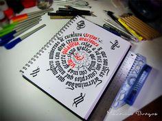 Garabateando mientras espero #calligraphy #handmadeletters #loveletters #letters #sketch #sketchbook #mexico #photo