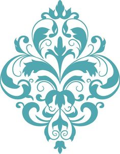 Wood Carving Patterns, Stencil Patterns, Stencil Designs, Paint Designs, Pattern Art, Stencils, Damask Stencil, Stencil Diy, Mandala
